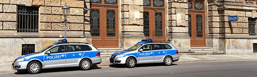 Polizeistation Beschuldigter