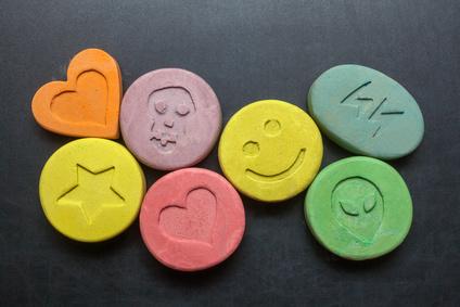 Ecstasy Exstasy Tabletten